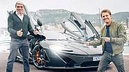 Росберг та Хаккінен на McLaren P1 у Монако