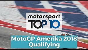 Top 10 Highlights Qualifying   MotoGP Amerika 2018
