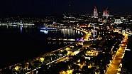 Gasly over het circuit van Baku