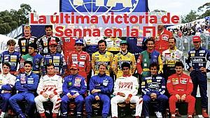 La última victoria de Senna en F1 ESP