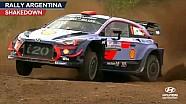 Rally Argentina shakedown