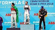 Selebrasi podium Sam Bird | E-Prix Roma