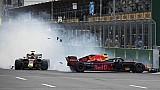 Tabrakan duo Red Bull   GP Azerbaijan 2018