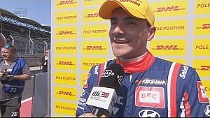 Interview - We have a final grid pole, Alex Legouix catches the DHL pole position winner