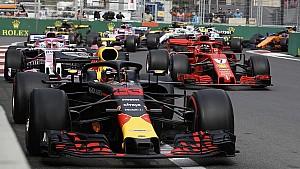Top 10 F1: Azerbeidzjan