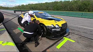Behind the K-Pax racing driver change at Virginia International raceway