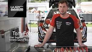 Rally Argentina 2018: en la grava/ Toyota Yaris WRC