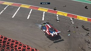 6H Spa Race - Ford #67 crash