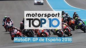 Top 10 momentos GP de España 2018 MotoGP