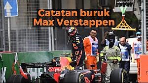 Catatan buruk Max Verstappen | Racing Stories