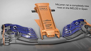 De nieuwe neus van McLaren: Een meesterzet?
