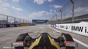 Berlin ePrix vuelta Virtual - @virtuallylive
