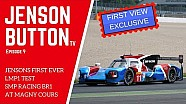 Jenson Button prueba el BR1 LMP1