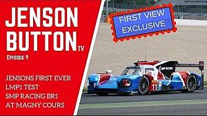 Jenson Button teste la BR1 LMP1