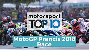 Top 10 Highlights Race | MotoGP Prancis 2018