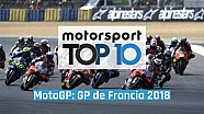 Top 10 del GP de Francia 2018 de MotoGP