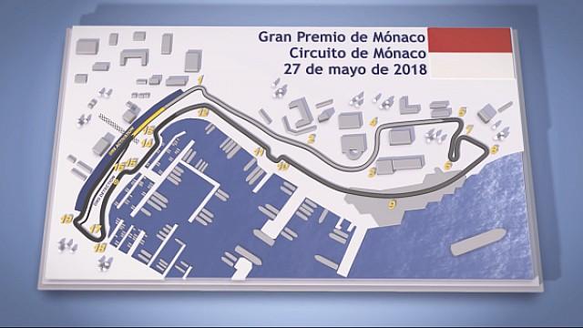 Fórmula 1 El circuito de Montecarlo, sede del GP de Mónaco de F1