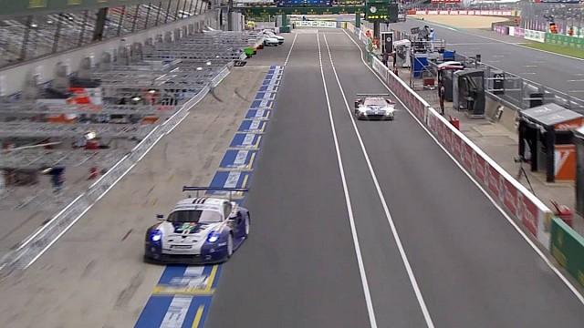Le Mans Epic duel: Watch Porsche 911 v Ford GT