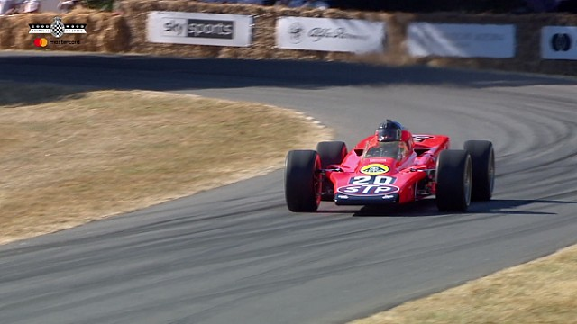 El Lotus 4WD de la Indy 500 en Goodwood