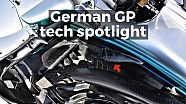 German GP tech spotlight
