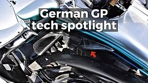 German GP tech spotlight